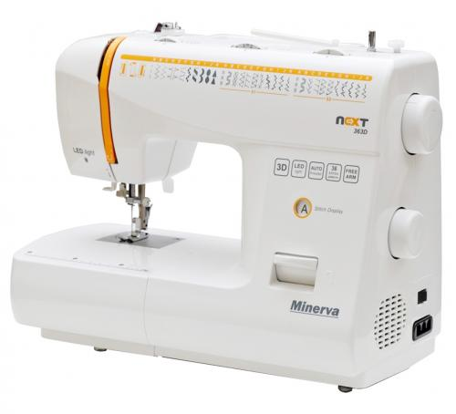 Maszyna do szycia Minerva Next 363D + nici + szpulki GRATIS