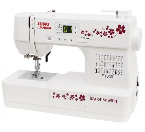 Maszyna do szycia JUNO E1030 + GRATIS szpulki + nici
