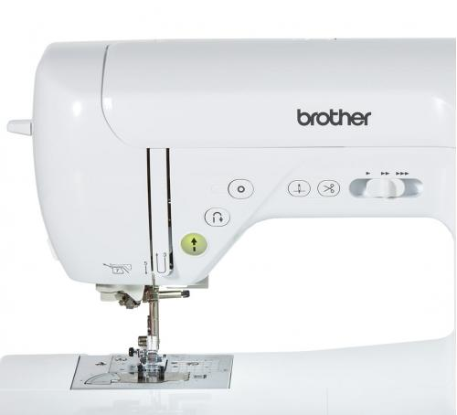 Maszyna do szycia Brother F400 + nici + szpulki GRATIS
