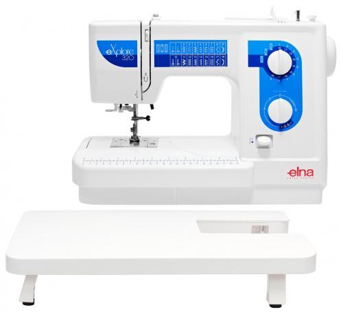 Maszyna do szycia Elna 320eX ze stolikiem