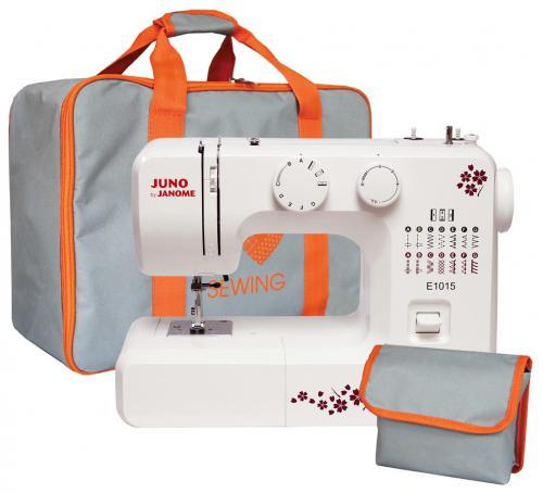 Maszyna do szycia Juno E1015 plus torba na maszynę