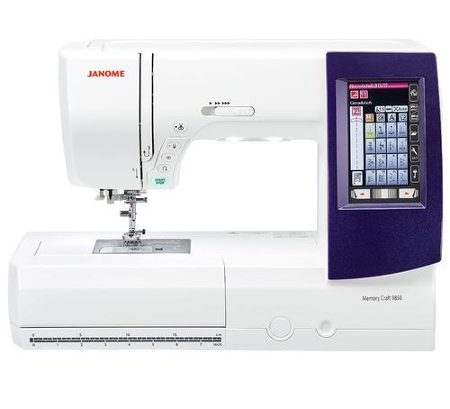 Maszyno-Hafciarka JANOME MC9850