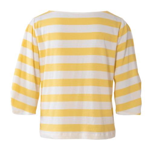 Wykrój krawiecki BURDA na bluzkę ibluzę z okrągłym dekoltem i ciekawymi, szerokimi rękawami