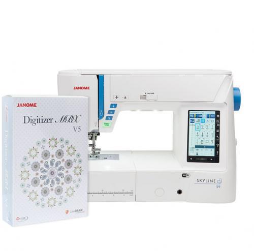 Maszyno-hafciarka Janome Skyline S9 + program Janome Digitizer MBX 5.5