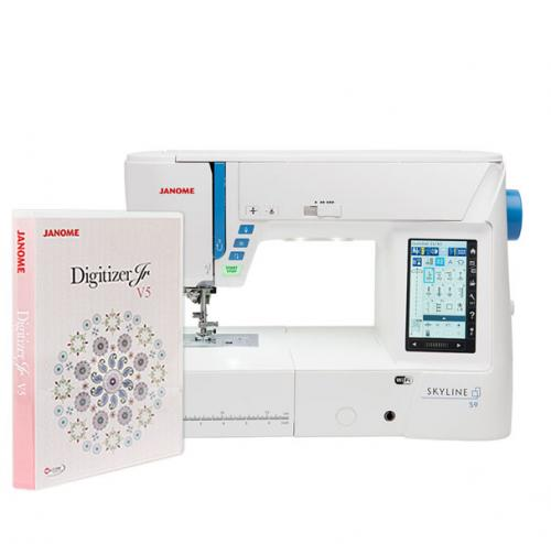 Maszyno-hafciarka Janome Skyline S9 + program Janome Digitizer Jr 5.5