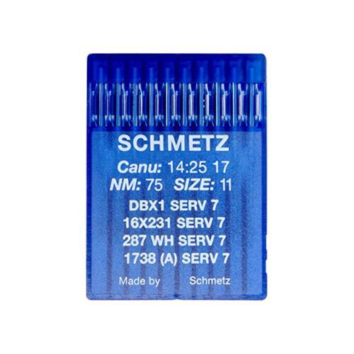 Igły Schmetz 16x231 SERV 7 do stebnówek do szycia tkanin - różne grubości