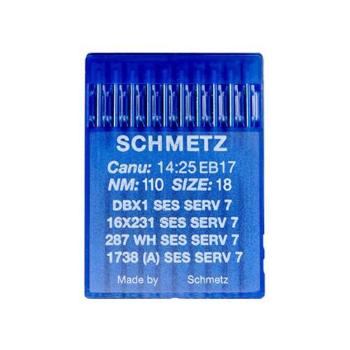 Igły Schmetz 16x231 SES SERV7 do stebnówek do szycia dzianin - różne grubości