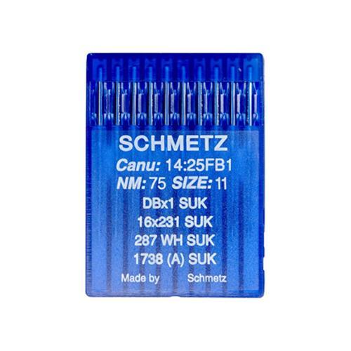 Igły Schmetz 16x231 do stebnówek do szycia dzianin - różne grubości