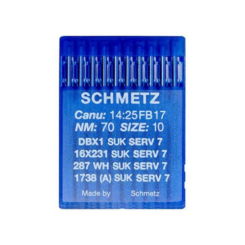 Igły Schmetz 16x231 SUK SERV7 do stebnówek do szycia dzianin - różne grubości