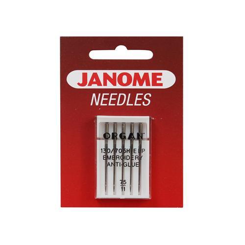 Igły do haftowania ANTI-GLUE 130/705H Janome