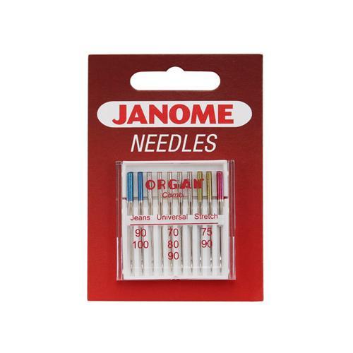 Igły do maszyn do szycia Janome MIX 130/705H (różne warianty)