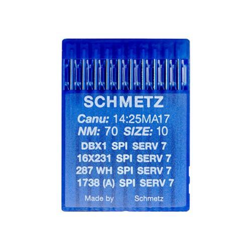 Igły Schmetz 16x231 SPI SERV 7 do stebnówek do szycia tkanin - różne grubości