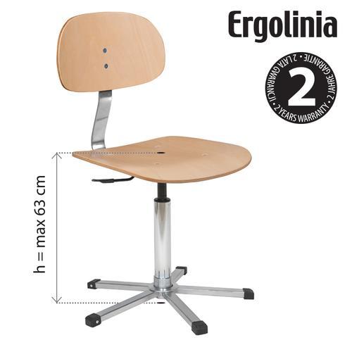 Krzesło obrotowe Ergolinia EVO4