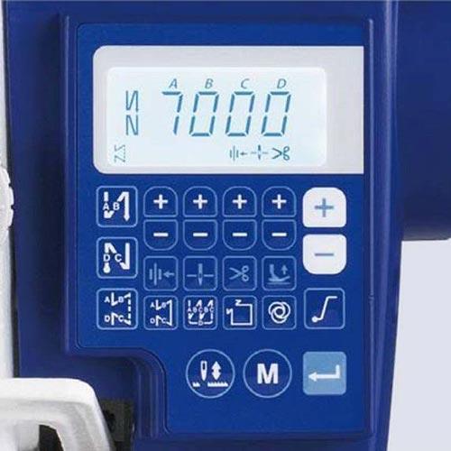 Stębnówka automatyczna Juki DDL-7000AH-7 do ciężkiego szycia