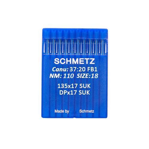 Igły Schmetz 135x17 SUK do stebnówek do szycia dzianin (różne grubości)