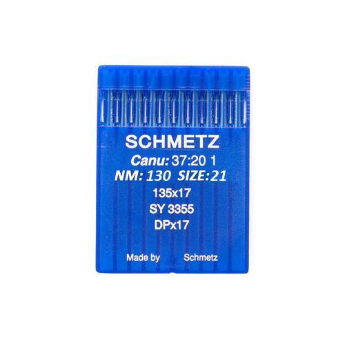 Igły Schmetz 135x17 do stebnówek do szycia tkanin (różne grubości)