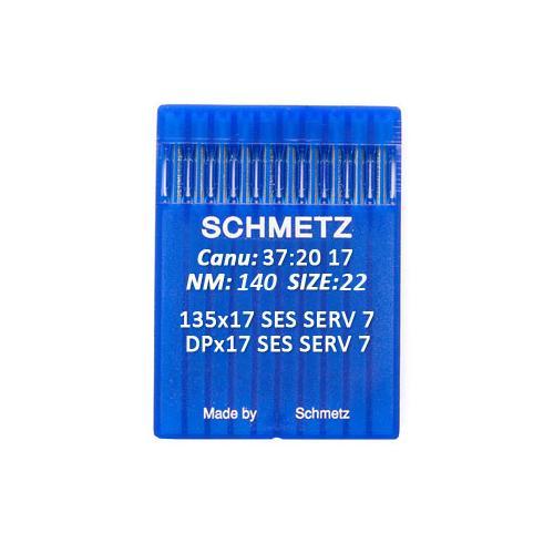 Igły Schmetz 135x17 SES SERV 7 do stebnówek do szycia dzianin (różne grubości)