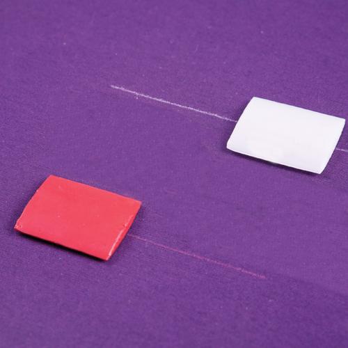 Kreda krawiecka woskowa - biała, kolor, fig. 2