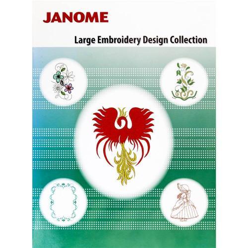 Kolekcja dużych haftów dla hafciarki Janome MC500E