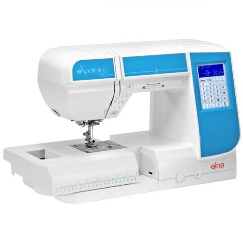 Maszyna do szycia Elna 580 eXperience + GRATIS nici + szpulki