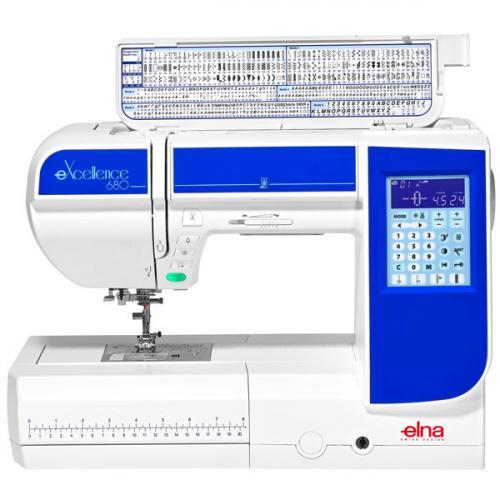 Maszyna do szycia Elna 680 eXcellence + GRATIS nici i szpulki