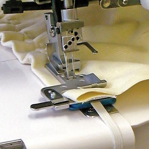 Naprężacz do wszywania gumy (8mm) do coverloków Janome