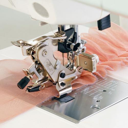 Stopka do falbanek i zakładek (do maszyn z szerokością ściegu 9 mm)