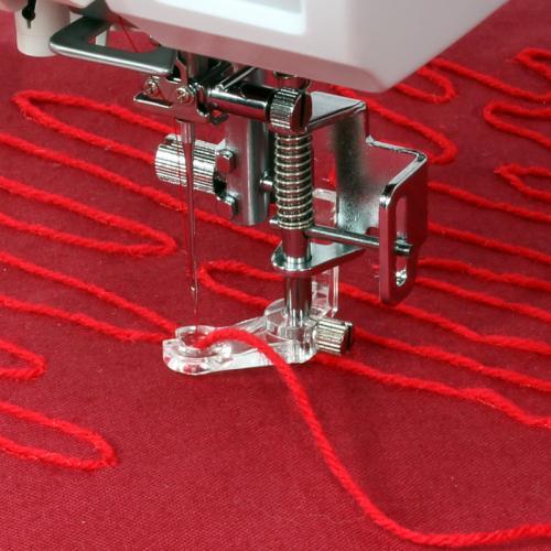 Stopka do naszywania włóczki i sznurka (do maszyn z szerokością ściegu 9 mm)