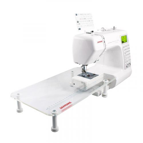Stolik powiększający pole pracy (Janome MC6500, MC6600P, MC6700, 1600PQC i Elna 720ex)
