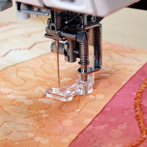 Stopka do pikowania, haftowania i cerowania (do maszyn z szerokością ściegu 9 mm)