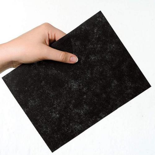 Stabilizator wycinany Madeira Super Strong Black (30cm x 5 m) - czarny
