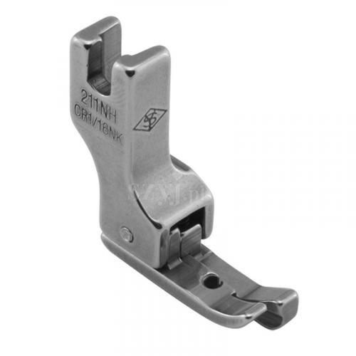 Stopka kompensacyjna wąska 1,6 mm (prawa) do delikatnych materiałów do stebnówek