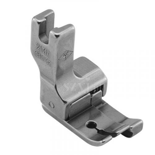 Stopka kompensacyjna 6,4 mm (prawa) do delikatnych materiałów do stebnówek
