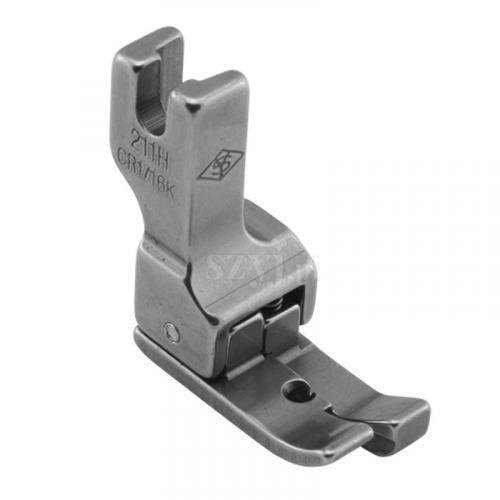 Stopka kompensacyjna 1,6 mm (prawa) do delikatnych materiałów do stebnówek