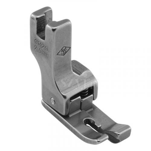 Stopka kompensacyjna 2,5 mm (prawa) do stebnówek z transportem dolnym