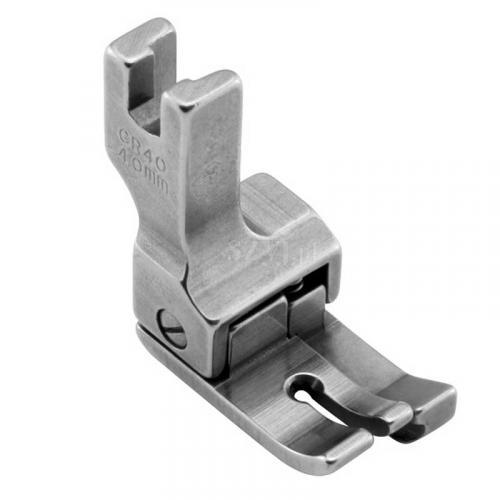 Stopka kompensacyjna 4,0 mm (prawa) do stebnówek z transportem dolnym