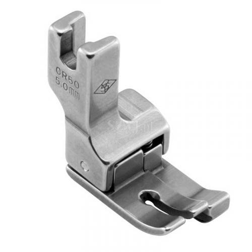 Stopka kompensacyjna 5,0 mm (prawa) do stebnówek z transportem dolnym
