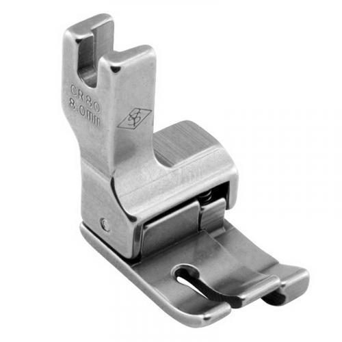 Stopka kompensacyjna 8,0 mm (prawa) do stebnówek z transportem dolnym