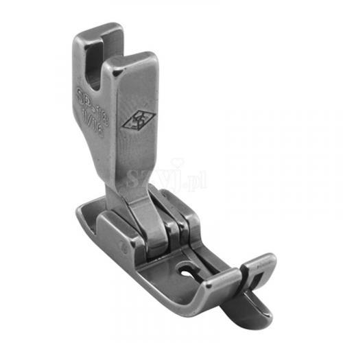 Stopka kompensacyjna 1,6 mm ze sprężynującym liniałem prawym do stębnówek