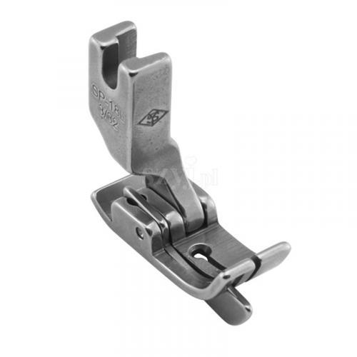Stopka kompensacyjna 2,4 mm ze sprężynującym liniałem prawym do stębnówek