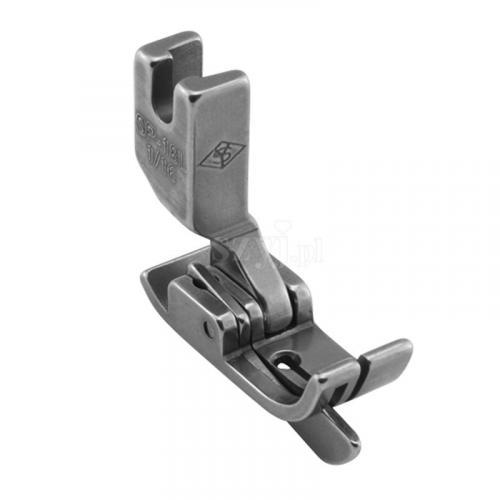 Stopka kompensacyjna 1,6 mm ze sprężynującym liniałem lewym do stębnówek