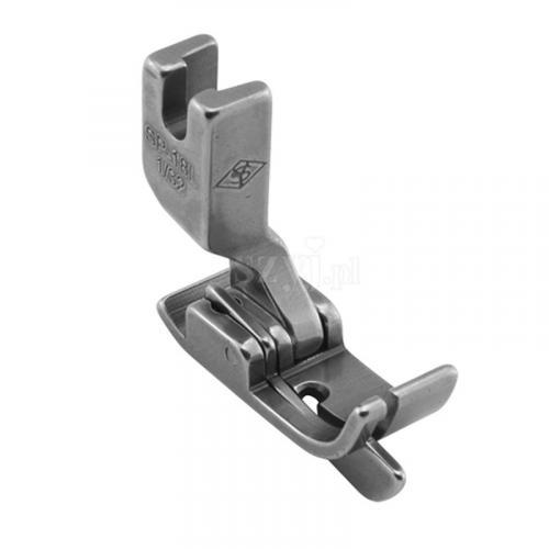 Stopka kompensacyjna 0,8 mm ze sprężynującym liniałem lewym do stębnówek