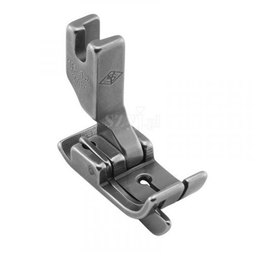 Stopka kompensacyjna 4,8 mm ze sprężynującym liniałem lewym do stębnówek