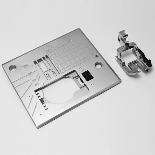 Stopka krawędziowa i płytka do maszyn Janome MC6600P
