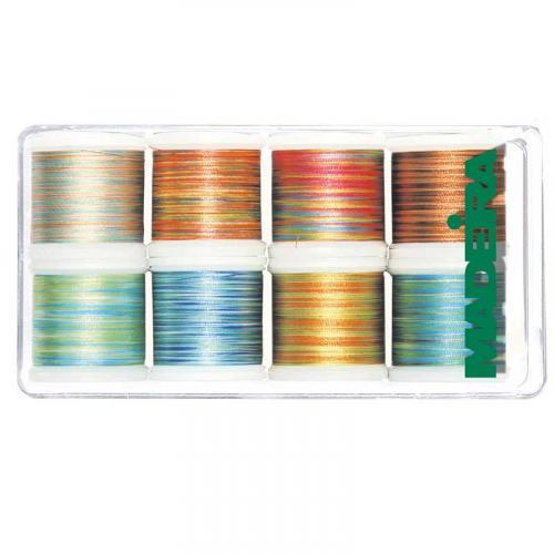 Zestaw nici Madeira Polyneon multicolor (8 x 200m)