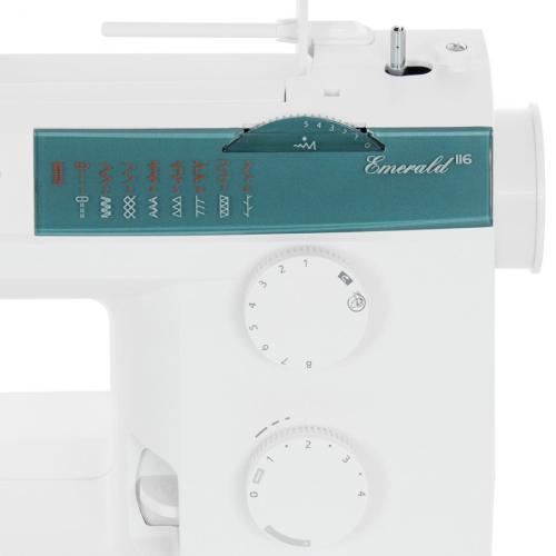 Maszyna do szycia Husqvarna Emerald 116 + GRATIS szpulki + nici