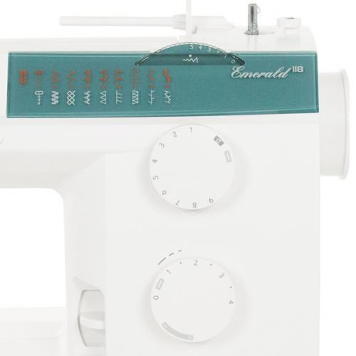 Maszyna do szycia Husqvarna Emerald 118 + GRATIS szpulki + nici