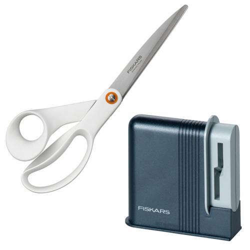Zestaw Fiskars – ostrzałka i nożyczki 24 cm