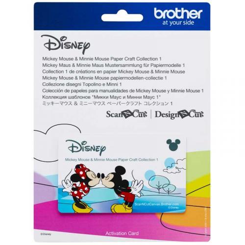 Kolekcja wzorów Disney Mickey Mouse do Brother ScanNcut