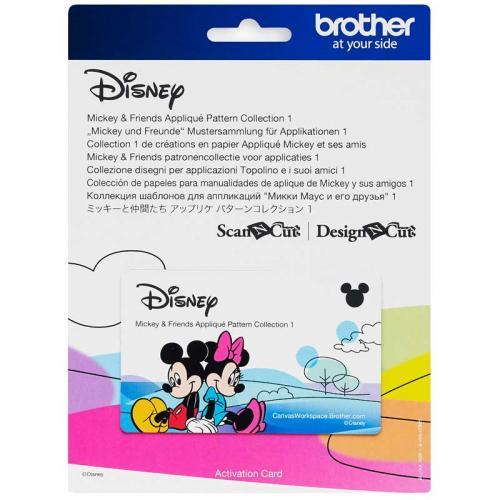 Kolekcja wzorów Disney Mickey & Friends do Brother ScanNcut